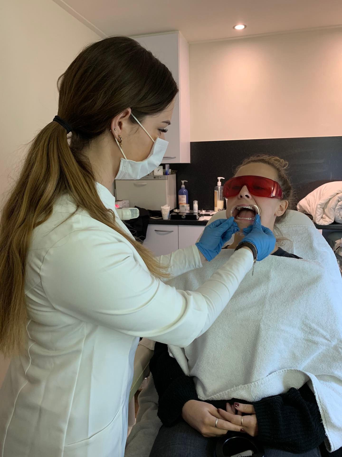 Behandeling cursus tandcosmeticus